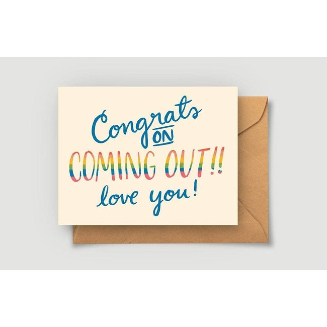 Coming Out LGBTQ Card