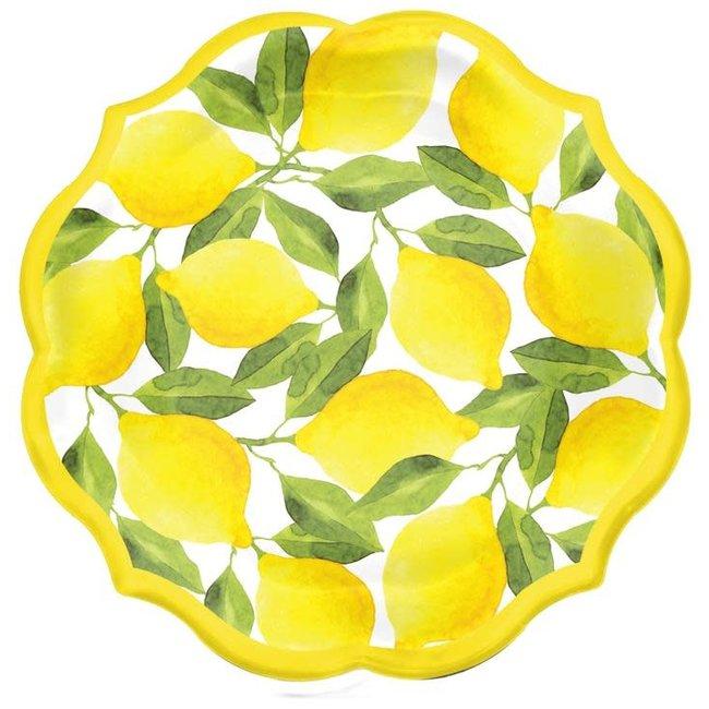 Dessert Plate Lemons