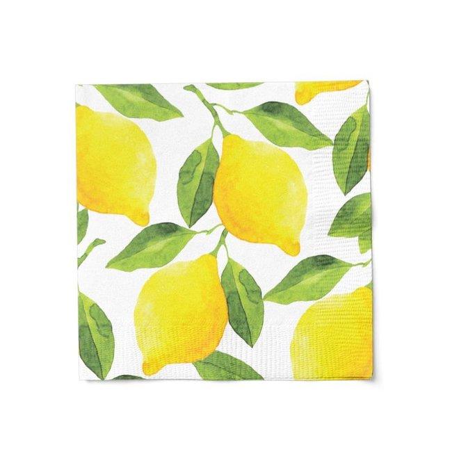 Lunch Napkin Lemons
