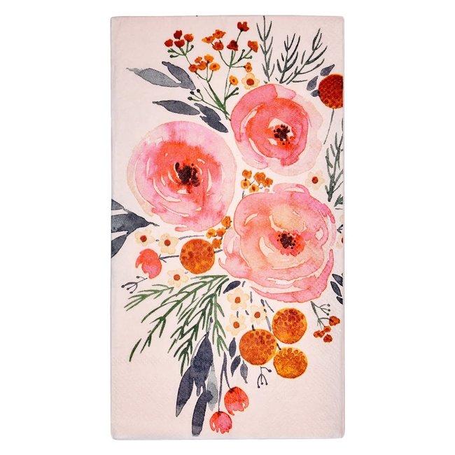 Guest Towel Blush Bouquet