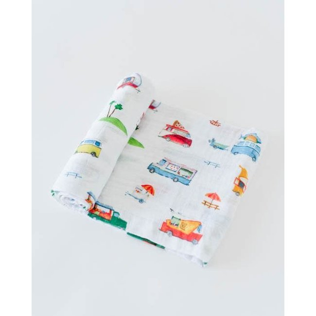 Food TruckCotton Muslin Swaddle Single