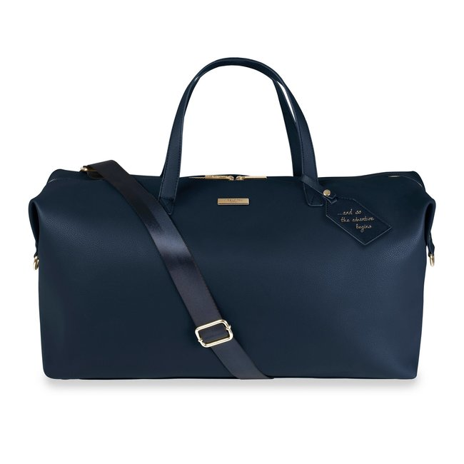 Katie Loxton Adventure Begins Weekend Bag Navy