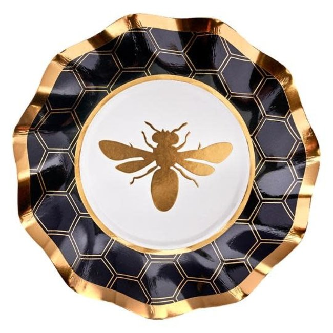 Wavy App/Dessert Bowl Honeybee