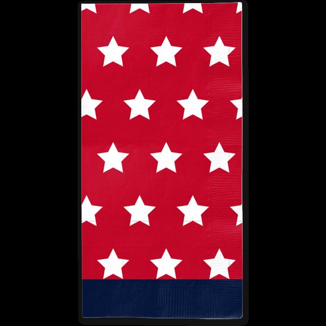 Guest Towel Red Patriotic
