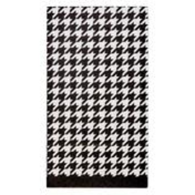 Guest Towel Blanc & Noir