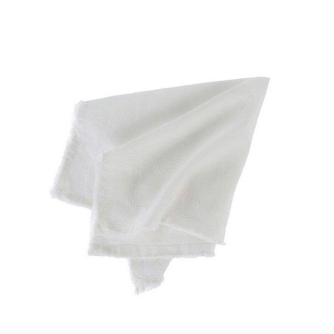 Linen Napkin S/4 Ivory