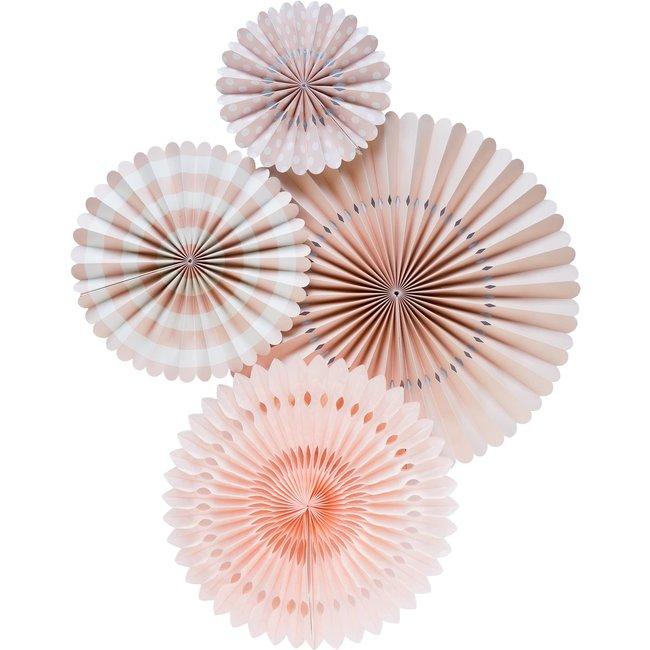 Basic Blush Pink Fan Set