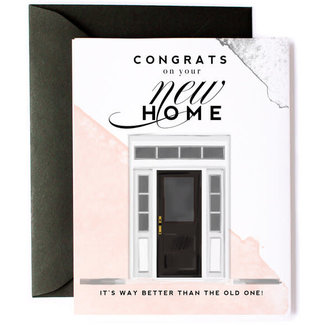 Funny Congrats on new home Card