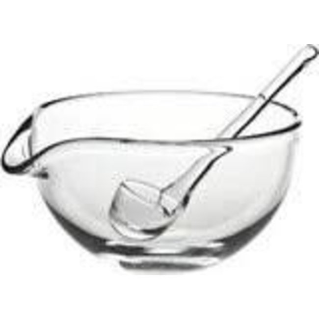 Sauces Sauce Boat with Spoon