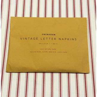 Letter Napkin Love Edition 1