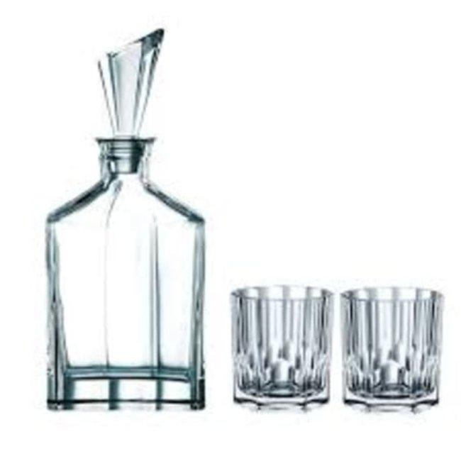 nachtmann Aspen Whisky Decanter S/3