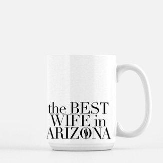 Best Wife Deluxe Mug