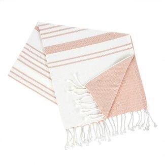 Turkish Bath Towel, Pink