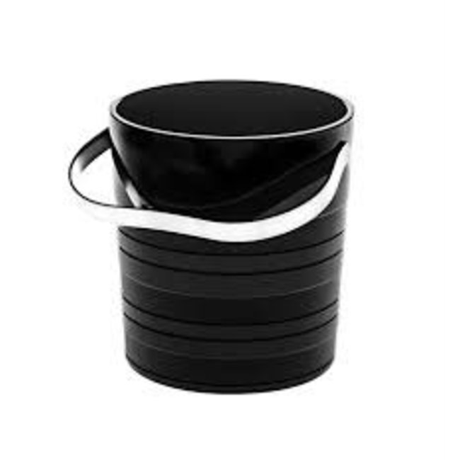Vinyl Black Ice Bucket