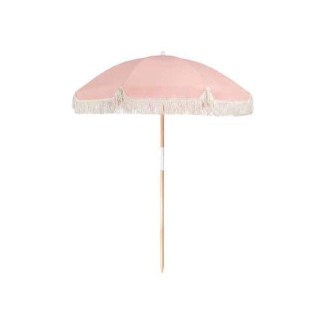 Luxe Beach Umbrella  Pink