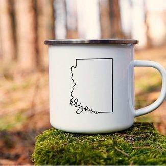 Arizona Enamel Mug