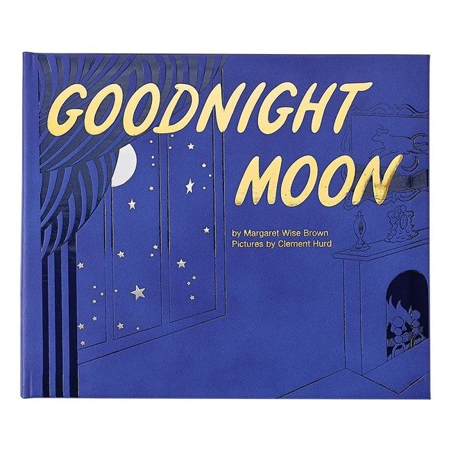 Goodnight Moon | Blue Leather