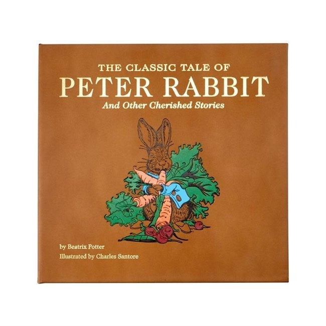 Peter Rabbit | Tan Bonded Leather