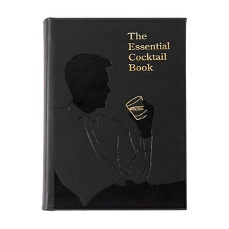 Essential Cocktail Book | Black Leather