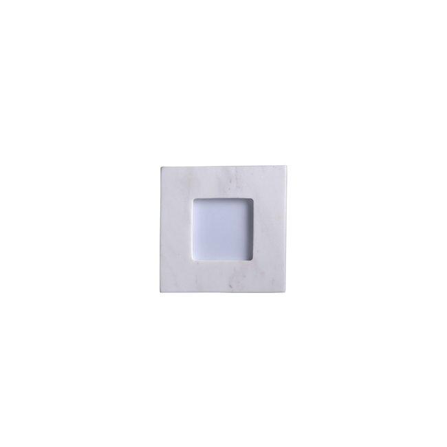 Marble Frame White 3.5 X 3.5