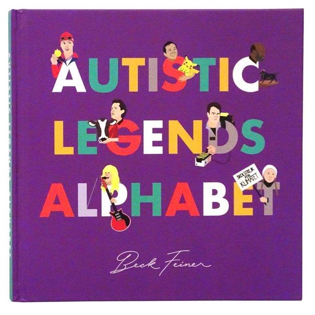 Autistic Legends Alphabet Book