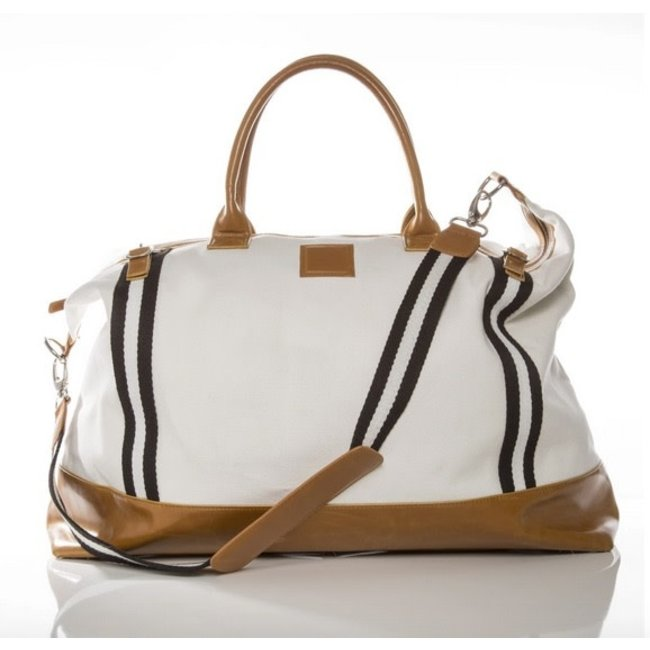 The Great Escape Weekender Bag Off White