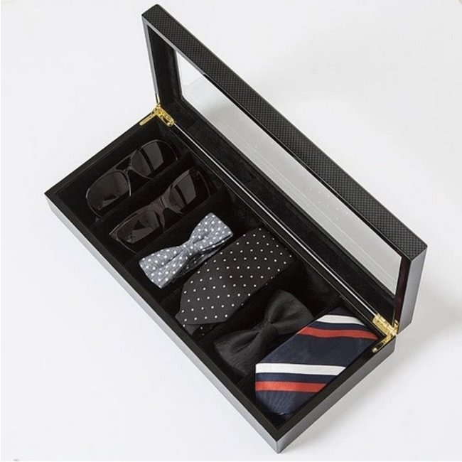 Carbon Fiber Safe Specs Sunglass Box