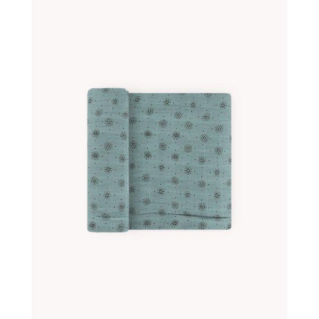 Cotton Muslin Swaddle Blanket - Wallflower
