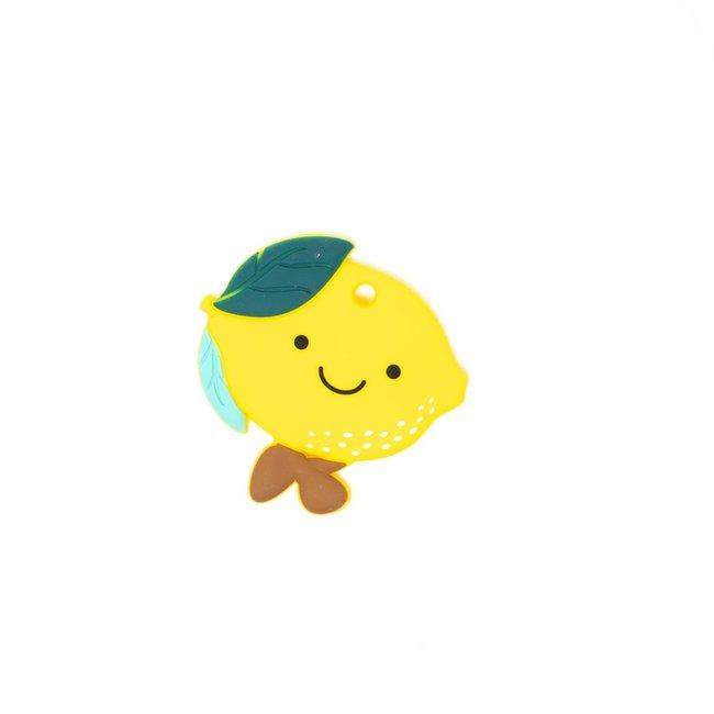 Lemon Silicone Teether