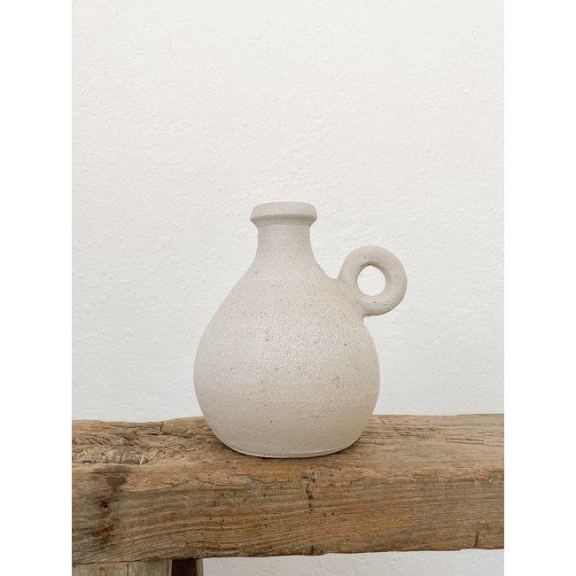 Tully Vase - Textured Mist
