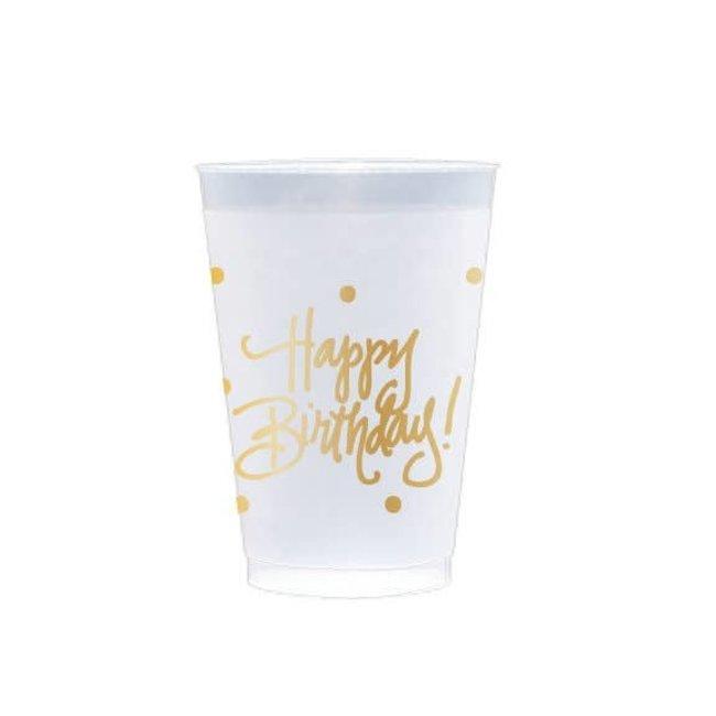 Frost Flex Cups - Happy Birthday!