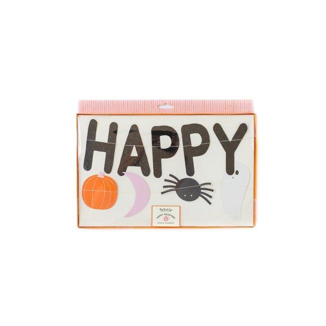 Happy Haunting Icon Banner Set
