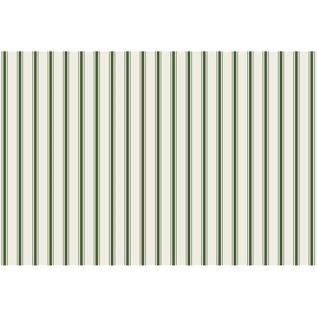 Green Ribbon Stripe Placemat