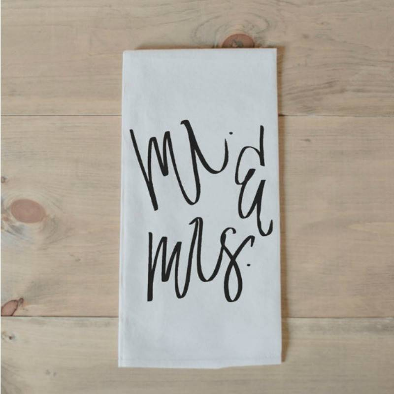 Tea Towel Mr Mrs
