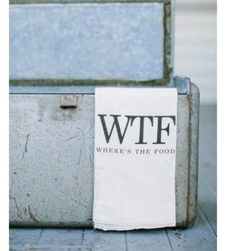 "Tea Towel ""WTF"""