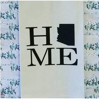 "Tea Towel ""Home"" AZ"