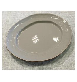 Cantaria Large Oval Platter Greige