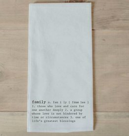 Tea Towel Family Definition