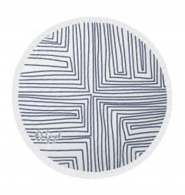 Beach People The Avalon Round Towel