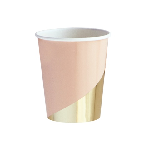 Harlow & Grey Goddess Colorblock  Party Cups