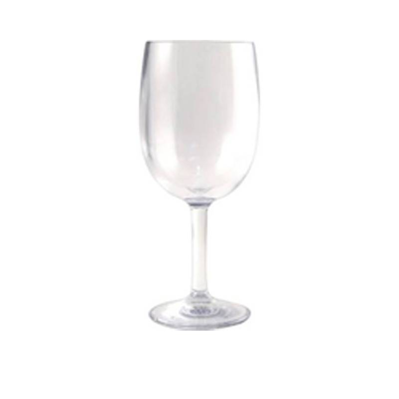 Polycarbonate Stemmed Wine Glass