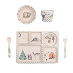 Love Mae Forest Feast Dinner Set