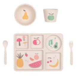 Love Mae Fruit Veggie Dinner Set