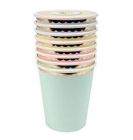 Meri Meri Paper Pastel Cups Assorted