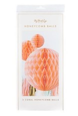 My Minds Eye Coral Honeycomb Balls