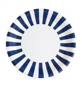 Paper Plate Naute So Navy