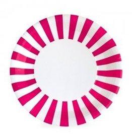 Paper Plate Pop Pink