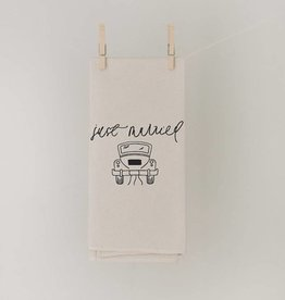 Tea Towel Just Married