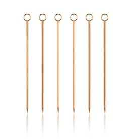 TRUE Copper Cocktail Pick Set