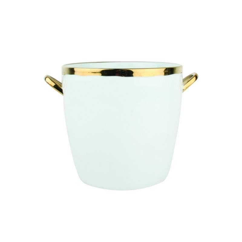 Canvas Dauville Gold Ice Bucket